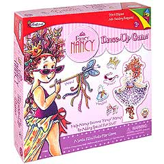 Colorforms Fancy Nancy Dress-Up Game