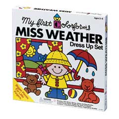 Miss Weather Colorforms Play Set