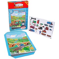 Thomas & Friends Island of Sodor Colorforms Play Set
