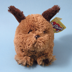 Puffkins 2 Duncan Dog Plush