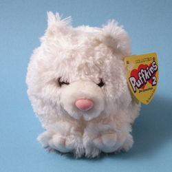 Puffkins 2 Bailey Cat Plush by Swibco