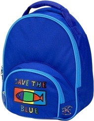 Save The Blue Toddler Backpack by Four Peas