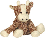 Mini Sock Cow by Sock Monkey