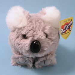 Puffkins 2 Kokie Koala Plush by Swibco