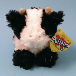 Barnie Cow Plush Puffkins 2