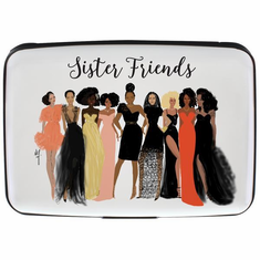 African American Expressions- CHC02 Sister Friends Card Holder