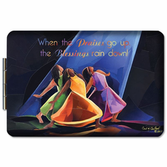 African American Expressions PM16 Praises Go Up Compact Mirror PM16 Praises Go Up Compact Mirror