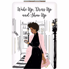 African American Expressions-PM03 Show Up Compact Mirror