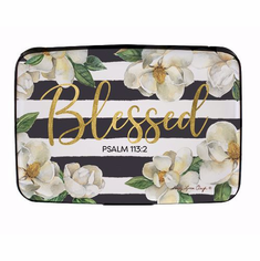 African American Expressions - CHC10 Blessed Magnolia Card Holder
