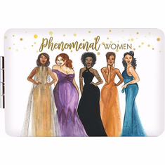 African American Expressions- PM07 Phenomenal Women Compact Mirror