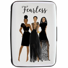 African American Expressions - CHC03 Fearless Card Holder