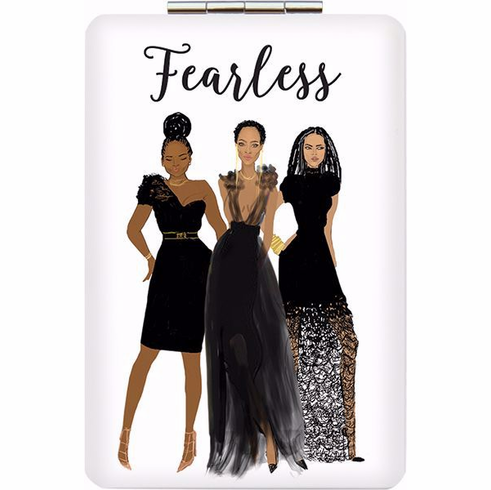 African American Expressions- PM10 Fearless Compact Mirror