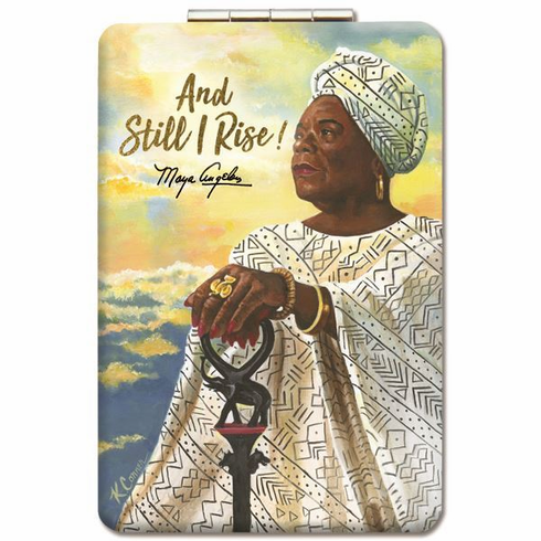 African American Expressions- PM11 And Still I Rise Compact Mirror