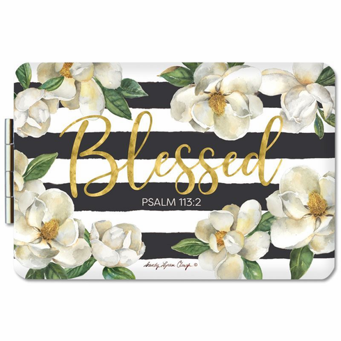 African American ExpressionsPM17 Blessed Magnolia Compact Mirror