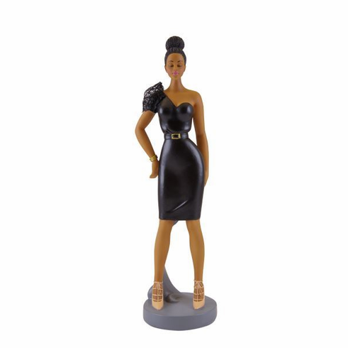"""African American Expressions - Fearless Sister Friends Figurine, 2.75"""" x 9.5"""", FSF-01"""