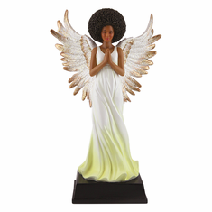 African American Expressions - FAN03 Yellow Angel