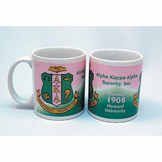 Alpha Kappa Alpha Coffee Mugs