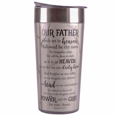 TC14 Lord's Prayer Travel Cup