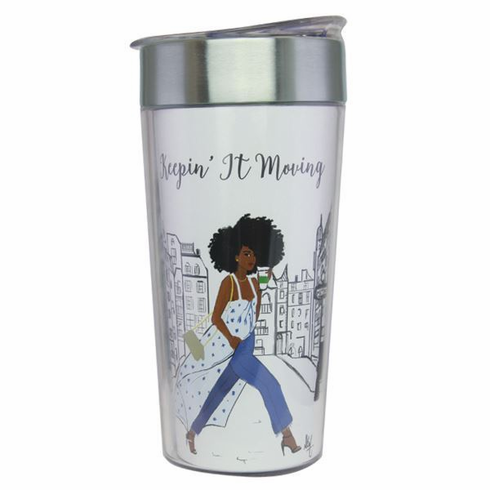 TC02 Keepin' It Moving Travel Cup