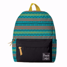 African American Expressions BP04 Turquoise/Orange Backpack Set