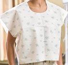 Graham Medical Wildflower Print Exam Capes