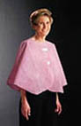 "Graham Medical Pink Mammography Patient Exam Capes 48"" x 23"""