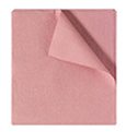 "Tidi Products 2-Ply Tissue Drape Sheets 40"" x 48"" Mauve"