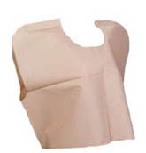 Graham Medical Value Tissue-Poly-Tissue Capes Peach (207)