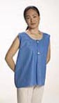 "Graham Medical FabriWear Blue Mammography Vest 31"" x 24"""