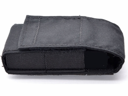Rifle Buttstock/Helmet Mountable Battery Pouch