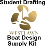 Westlawn Boat Design Student Drafting Supplies