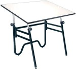 Opal Alvin Drafting Tables Stable & Folding 45° Tilt