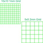 Keuffel & Esser Metric Graph Paper 1mm & 2mm Grid