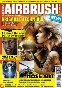 AIRBRUSH STEP BY STEP MAGAZINE ISSUE #52 - SUMMER 2019
