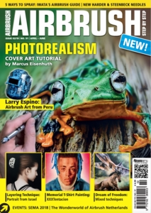 AIRBRUSH STEP BY STEP MAGAZINE  ISSUE #51 - SPRING 2019