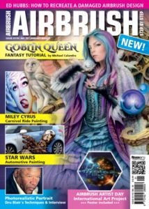 AIRBRUSH STEP BY STEP MAGAZINE ISSUE #50  - WINTER 2019