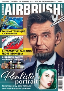 AIRBRUSH STEP BY STEP MAGAZINE ISSUE #49 -  FALL 2018