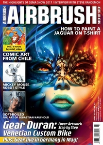 AIRBRUSH STEP BY STEP MAGAZINE ISSUE #47  - SPRING 2018