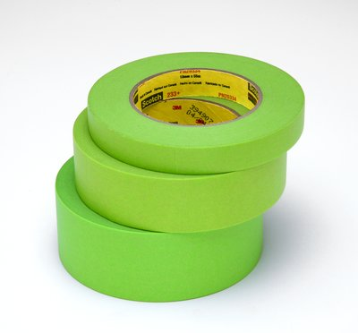 3M Green Masking Tape - 1 inch x 36 yds