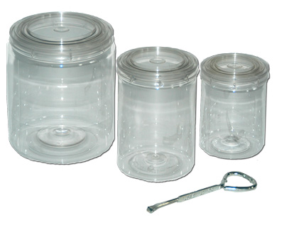 EZ View Clear Can from E-Z MIX - 8OZ