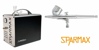 Sparmax DH-103 Airbrush with ARISM Compressor and Hose