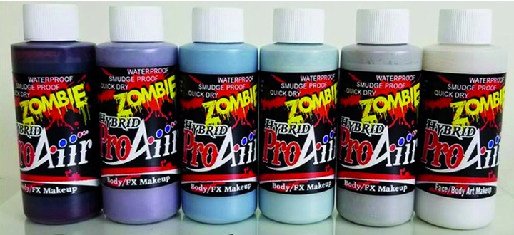 1oz ProAiir Hybrid Colors ZOMBIE 3, Set of 6