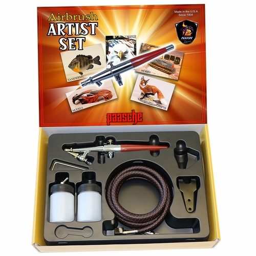 Paasche H Single Action Airbrush Hobby Set -2000H