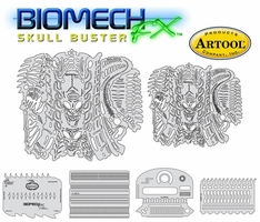 Artool Biomech FX - Skull Buster BMFX 1 by Mike Lavellee
