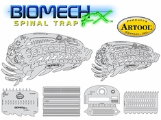 Artool Biomech FX - Spinal Tap BMFX 2 by Mike Lavellee
