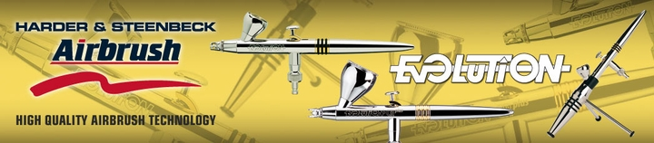 Harder Steenbeck Evolution Airbrushes