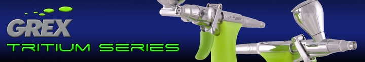 Grex Tritium Series Airbrushes