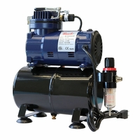 Paasche D3000R Airbrush Compressor with Air Tank