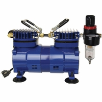 Paasche DA400R Airbrush Compressor with Automatic Shut-Off