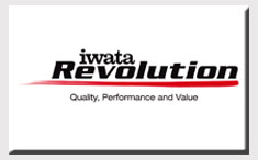 Iwata Revolution Series Airbrushes